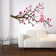 Decorating Walls With Paint Inspiring fine Unique Bedroom Painting Designs  Rainbow Girls Ideas Plans