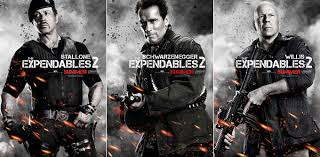 Amanda ooms, arnold schwarzenegger, bruce willis and others. Sly Ahnuld Willis Every Expendables 2 Character Poster Arrives