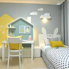 kids bedrooms simple. Cute Kid Bedrooms Simple White And Yellow Kids Bedroom Ideas With Study Table