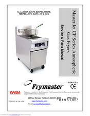 frymaster mjcf manuals frymaster mjcf service parts manual 88 pages master jet cf series atmospheric gas fryers