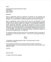 How To Write A Business Proposal Cover Letter Example Of Business