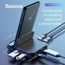 <b>Baseus Type C HUB</b> Multi <b>USB C Docking</b> Station USB <b>Type C HUB</b> ...