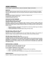 Emt Resume Wonderful 741 Emt Resumes Blackdgfitnessco