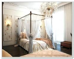 Curtains For Canopy Bed Frame How You Can Make Your Bedroom Look And ...