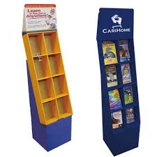 Cardboard Book Display Stand Magnificent Shenzhen Customized Makeup DisplaysCardboard Floor Display Shelf