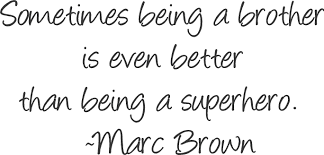 Quotes About Big Brothers Love 55 Quotes