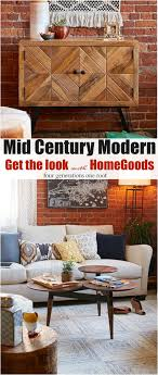 Home Goods Coffee Table Mid Century Modern Living Room Reveal Behind The Scenes At