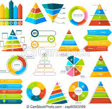 Big Chart Big Vector Collection Of Infographic Elements Pie Charts Graphs Diagram And Triangles