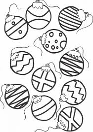 Printable 55 Christmas Decoration Coloring Pages 12852 - Ornaments ...
