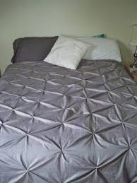 diy pintuck duvet cover from dyed sheets tutorial