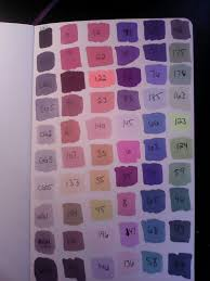 Ohuhu Color Chart Ohuhu Markers 60 Marker Color Chart In 2019 Ohuhu Markers