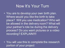 How To Develop A Birth Plan Developing A Birth Plan Choosing A Healthcare Professional
