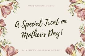 Cream Flowers Mothers Day Gift Certificate Templates By Canva