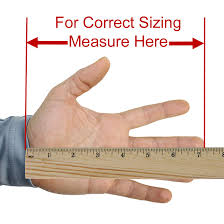 how to measure hand size for gloves leather max gloves size chart