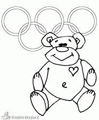 Kleurplaten Olympische Spelen Kleurplaten Kleurplaatnl