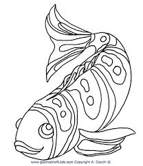 Pesci E Animali Acquatici Da Colorare
