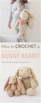 Crochet Floppy Ear Bunny Pattern
