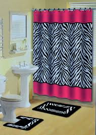 black and pink bathroom accessories. Awesome Black And White Zebra Print Bath Accessories Pink Of Bathroom Decor