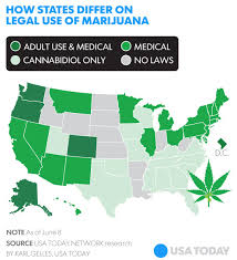 which state legalized weed