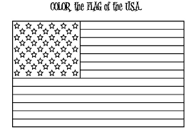 Small Picture American Flag for Independence Day Coloring Pages Download