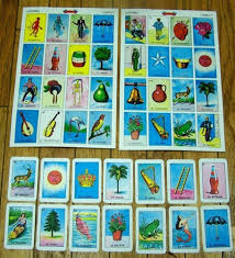 giant mexican loteria bingo cards for collage altered art and more handmade