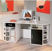 dalton corner computer desk sand oak. Fabri Wooden Corner Computer Desk In White With Black Door Dalton Sand Oak