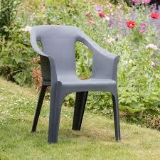 cool garden furniture. Resol Cool 6 X Garden Chairs - Grey Furniture T