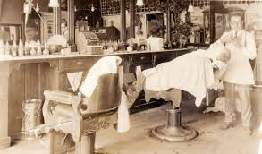 Image result for old timey barber