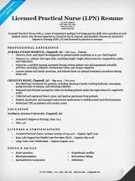 Gallery Of Lpn Resume Example