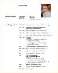 Lebenslauf Verfassen Resignation Format Lebenslauf Muster