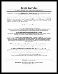 Property Insurance Adjuster Sample Resume 24 Claims Adjuster Resume Melvillehighschool 15