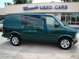 2004 Dark Forest Green Metallic Chevrolet Astro Cargo Van ...