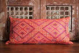 indian antique french cushions. Cushion With Antique Sindh Textile And Vintage French Linen Indian Cushions B