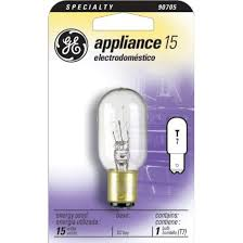 ge 15w t7dc appliance light bulb