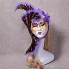 new venetian mask purple fl mask dance mask venetian makeup mask making with 21 85 piece on si775753711 s dhgate