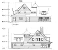 architecture house sketch. Plain Sketch Architectural Elevation Drawing In CAD Intended Architecture House Sketch P