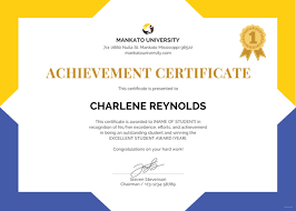 Certificates Template Free Certificate Templates Simple To