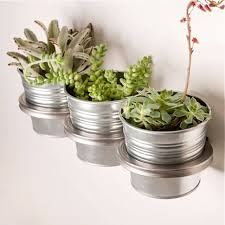 a wall mounted planter made in