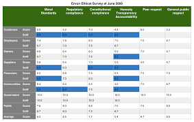 enron case study history ethics and governance failures enron case study applying the applied corporate governance survey tool to rate business ethics click to enlarge the image