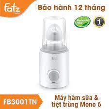 Chính Hãng] Máy hâm sữa và tiệt trùng bình sữa Fatzbaby Mono 6 / FB3001TN - Máy  hâm sữa Fatz Baby - Máy tiệt trùng, hâm sữa Hãng Fatz baby