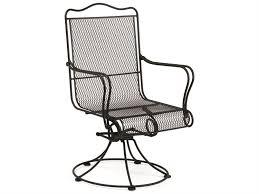 back swivel rocker dining arm chair