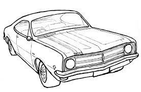 I did this drawing of my dream monaro to ac pany this piece