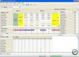 Baseball Schedule Creator Example Template