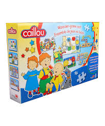 love this caillou game set