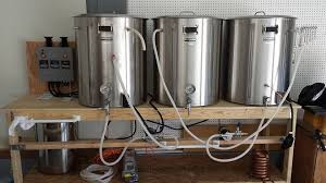 check out this customers home brew set up with blichmann s electrical brew equipment