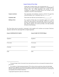 Investment Agreement Templates Investment Agreement Sample Free