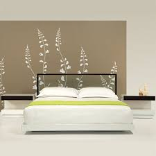 Large Picture of Creative Elegance Perspectives 5833 Queen Bed with Glass  Headboard