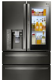 high tech refrigerator. Exellent High The LG Instaview Refrigerator Features A Sleek Glass Panel That Illuminates  With Two Quick Knocks Letting You See Inside Without Ever Opening The Door Intended High Tech R