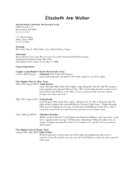 Resume For Cleaning Job