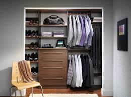 double hanging closet rod sections in a custom closet columbus ohio